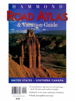 Hammond Road Atlas & Vacation Guide 1999 9780843727326