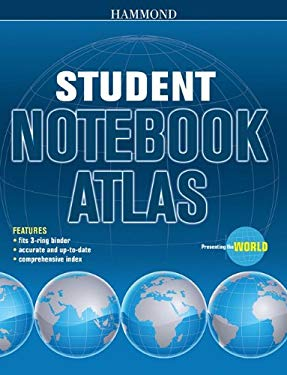 Hammond Student Notebook Atlas 9780843714838