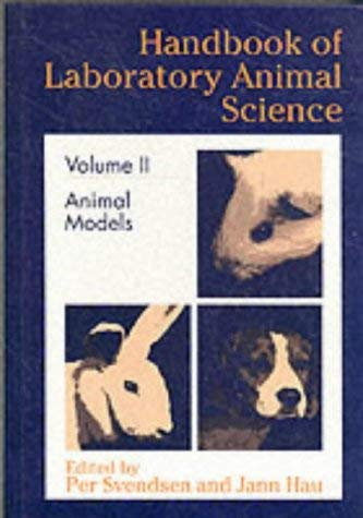 Handbook of Laboratory Animal Science, Volume II 9780849343902