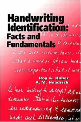 Handwriting Identification 9780849312854