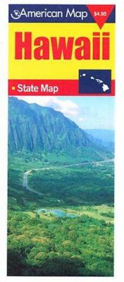 Hawaii State Map Hi 9780841654594