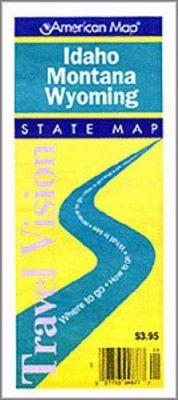 Idaho / Montana / Wyoming State Pocket Id/MT/WY