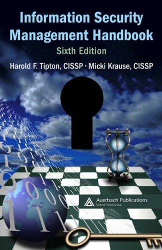 Information Security Management Handbook 6/E 4v 9780849374951