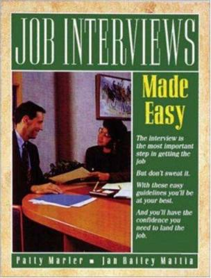 Job Interviews Made Easy 9780844243498