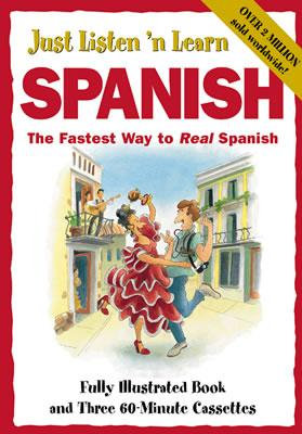 Just Listen 'n Learn Spanish [With Paperback] 9780844295688