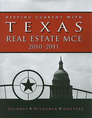 Keeping Current with Texas Real Estate MCE 9780840058768