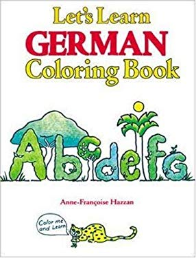 Let's Learn German Coloring Book 9780844221649