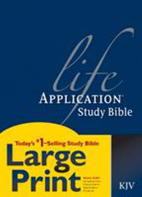 Life Application Study Bible-KJV-Large Print 9780842368834
