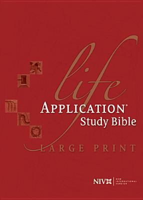 Life Application Study Bible-NIV-Large Print 9780842348966