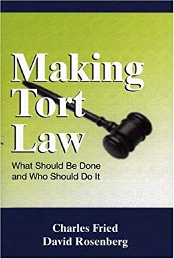 Making Tort Law 9780844741789