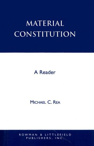 Material Constitution: A Reader 9780847683840
