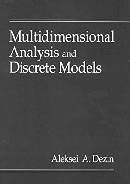 Multidimensional Analysis and Discrete Models 9780849394256