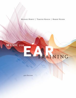 Music for Ear Training (with Music Coursemate with eBook Printed Access Card) [With CDROM] 9780840029812