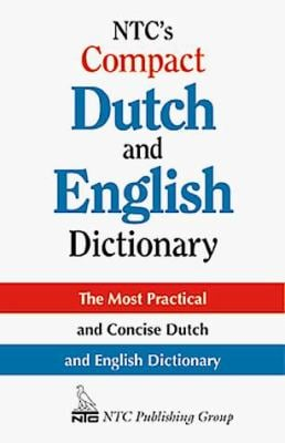 NTC's Compact Dutch and English Dictionary 9780844283517