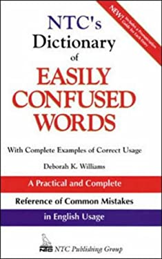 NTC's Dictionary of Easily Confused Words 9780844257860