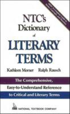 NTC's Dictionary of Literary Terms 9780844254647