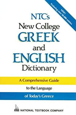 NTC's New College Greek and English Dictionary 9780844284736