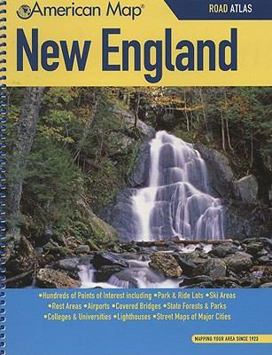 New England Road Atlas 9780841655089