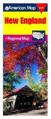 New England Travel Vision Regional Map 9780841690899
