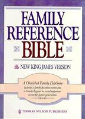 New King James Version Family Reference Bonded Leather Burgundy 9780840729439