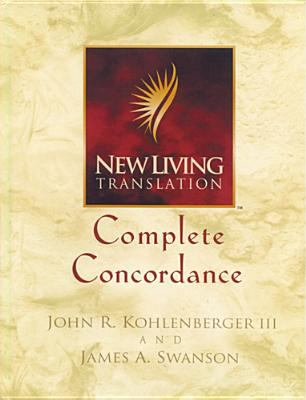 New Living Translation Complete Concordance 9780842332743