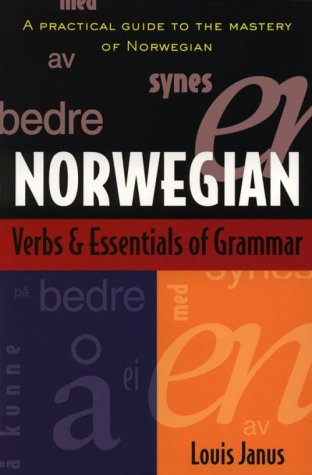 Norwegian Verbs and Essentials of Grammar 9780844285962