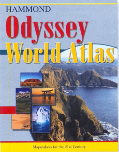 Odyssey World Atlas [With Pull-Out-Map] 9780843709407