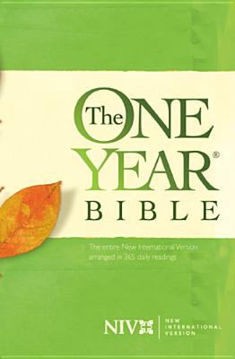 One Year Bible-NIV 9780842324519