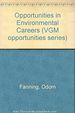 Opportunities in Environmental Careers 9780844281636