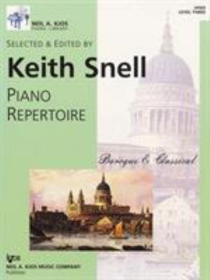 Piano Repertoire: Baroque & Classical (Level Three)