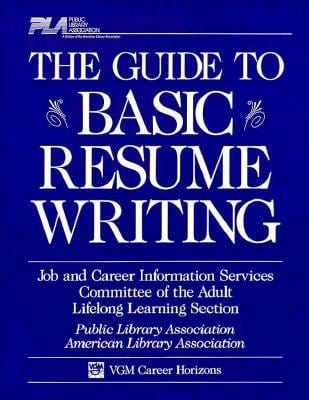 Pla Gde to Basic Resume Writing 9780844281230