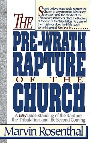 Prewrath Rapture of the Church 9780840731609
