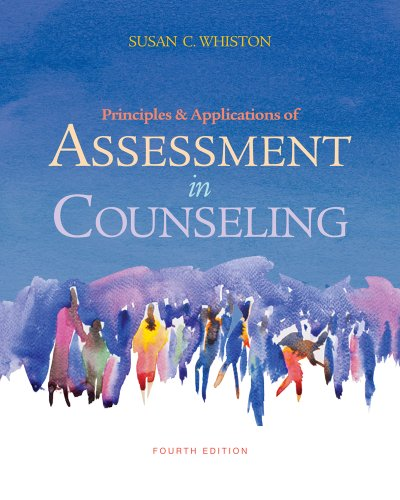 Principles and Applications of Assessment in Counseling 9780840028556