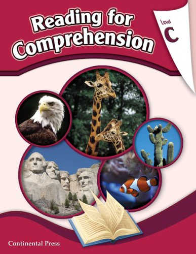 Reading Comprehension Workbook: Reading for Comprehension, Level C - 3rd Grade