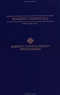 Reagent Chemicals: American Chemical Society Specifications, Official from January 1, 2000 9780841236714