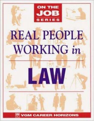 Real People Working in Law 9780844247397
