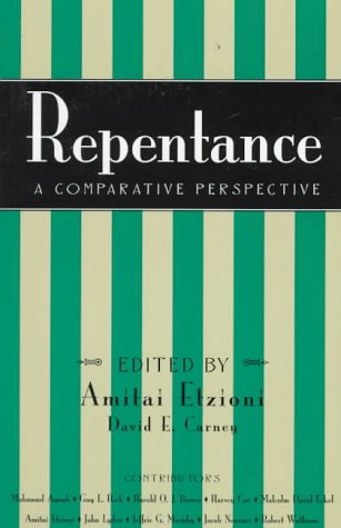 Repentance: A Comparative Perspective: A Comparative Perspective 9780847684717