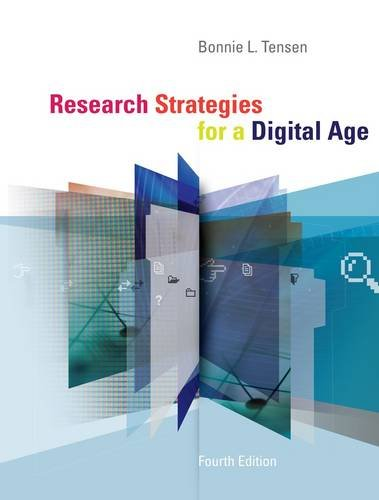 Research Strategies for a Digital Age 9780840028822