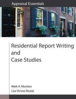 Residential Report Writing and Case Studies 9780840049223