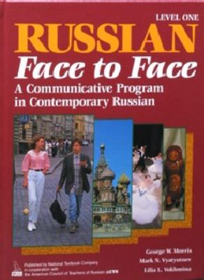 Russian Face to Face, Book 1, Student Edition 9780844243009