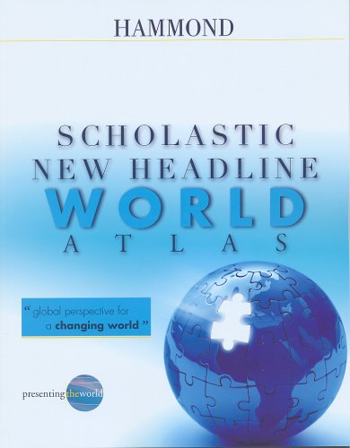Scholastic New Headline World Atlas 9780843709506