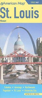 St. Louis, Missouri Street Map: Cahokia, Jennings, Northwoods, Pagedale, St. Louis, University City 9780841616653