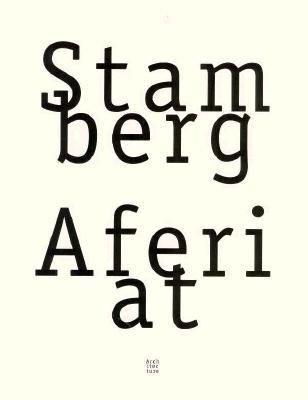 Stamberg Aferiat Architecture 9780847820115