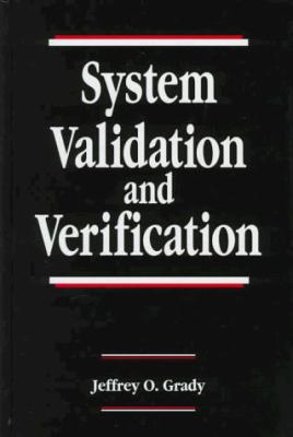 System Validation and Verification 9780849378386