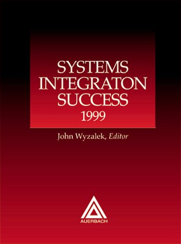 Systems Integration Success 9780849399688
