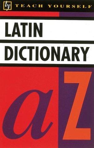 Teach Yourself Latin Dictionary 9780844238128