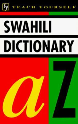 Teach Yourself Swahili Dictionary 9780844238388