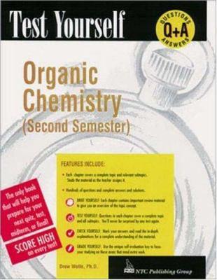 Test Yourself: Organic Chemistry 9780844223681