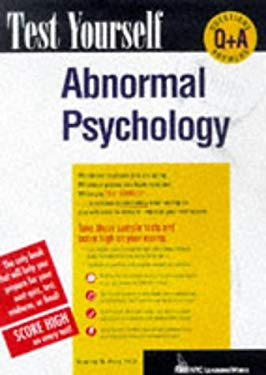 Test Yourself Abnormal Psychology 9780844223841