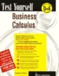 Test Yourself: Business Calculus 9780844223520